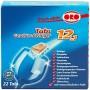Pastylki do mycia naczyń w zmywarkach bez fosforanów 12w1 22 szt.