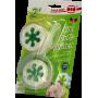 """WC krążki zapachowe """"Zielone jabłuszko"""" 3*45 gram"""