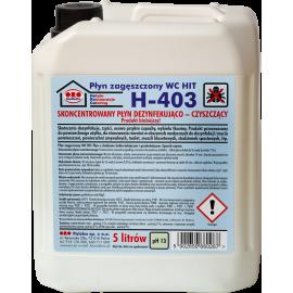 Płyn czyszcząco-dezynfekujący (biobój) 5l