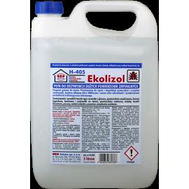 """Płyn czyszcząco - dezynfekujący """"Ekolizol"""", niskopieniący, do dużych powierzchni, gotowy do użycia (biobójczy)"""