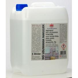 Preparat do usuwania naklejek i resztek kleju 5 L