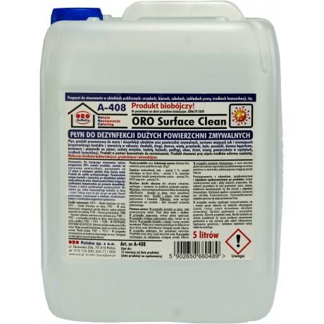 ORO Surface Clean płyn dezynfekująco - czyszczący, niskopieniący, do dużych powierzchni (biobójczy)