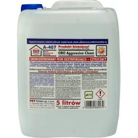 ORO Aggressive Clean koncentrat wirusobójczy,5L