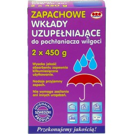 Pochłaniacz wilgoci, wkłady uzupełniające, zapachowe